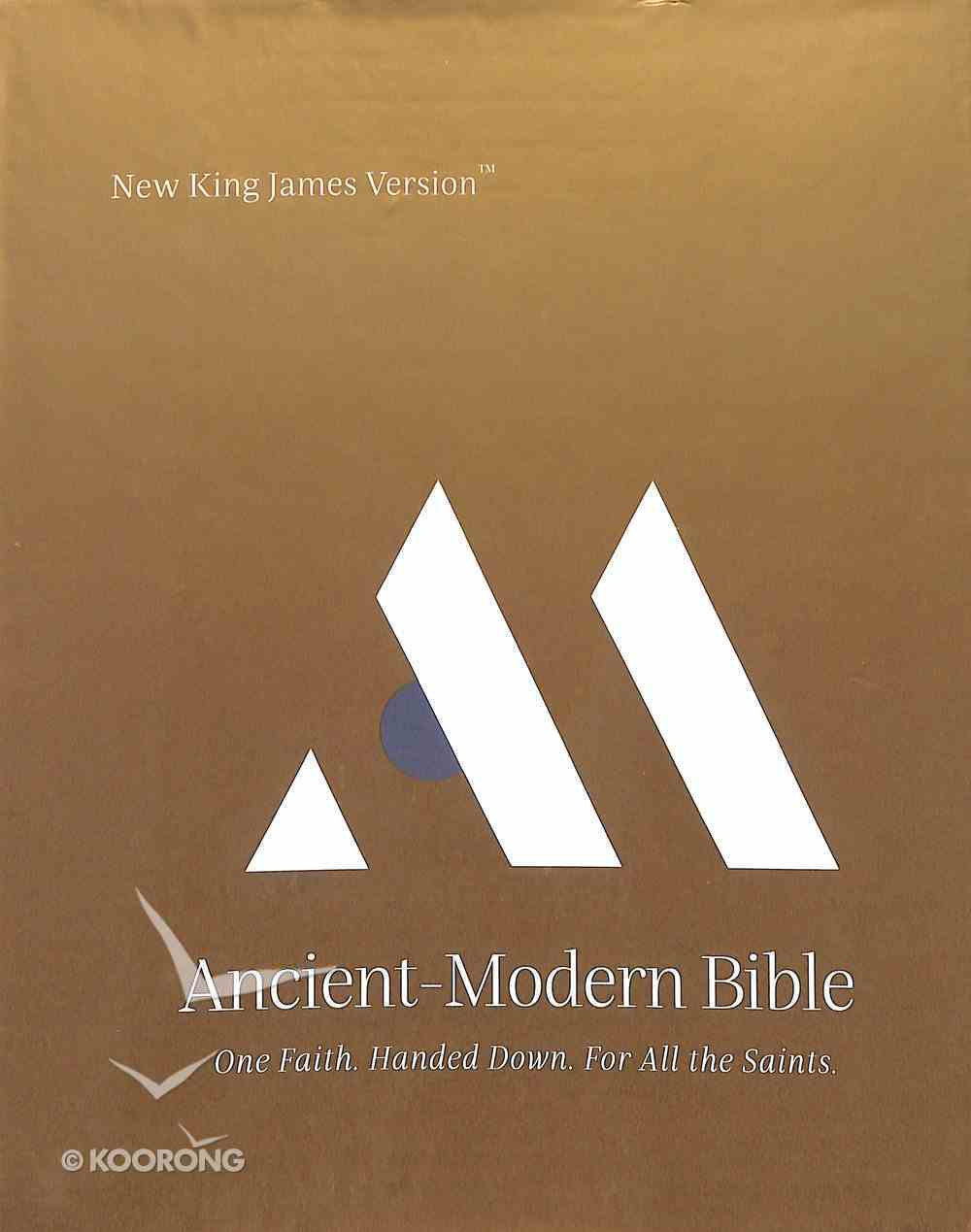 NKJV Ancient-Modern Bible Hardback