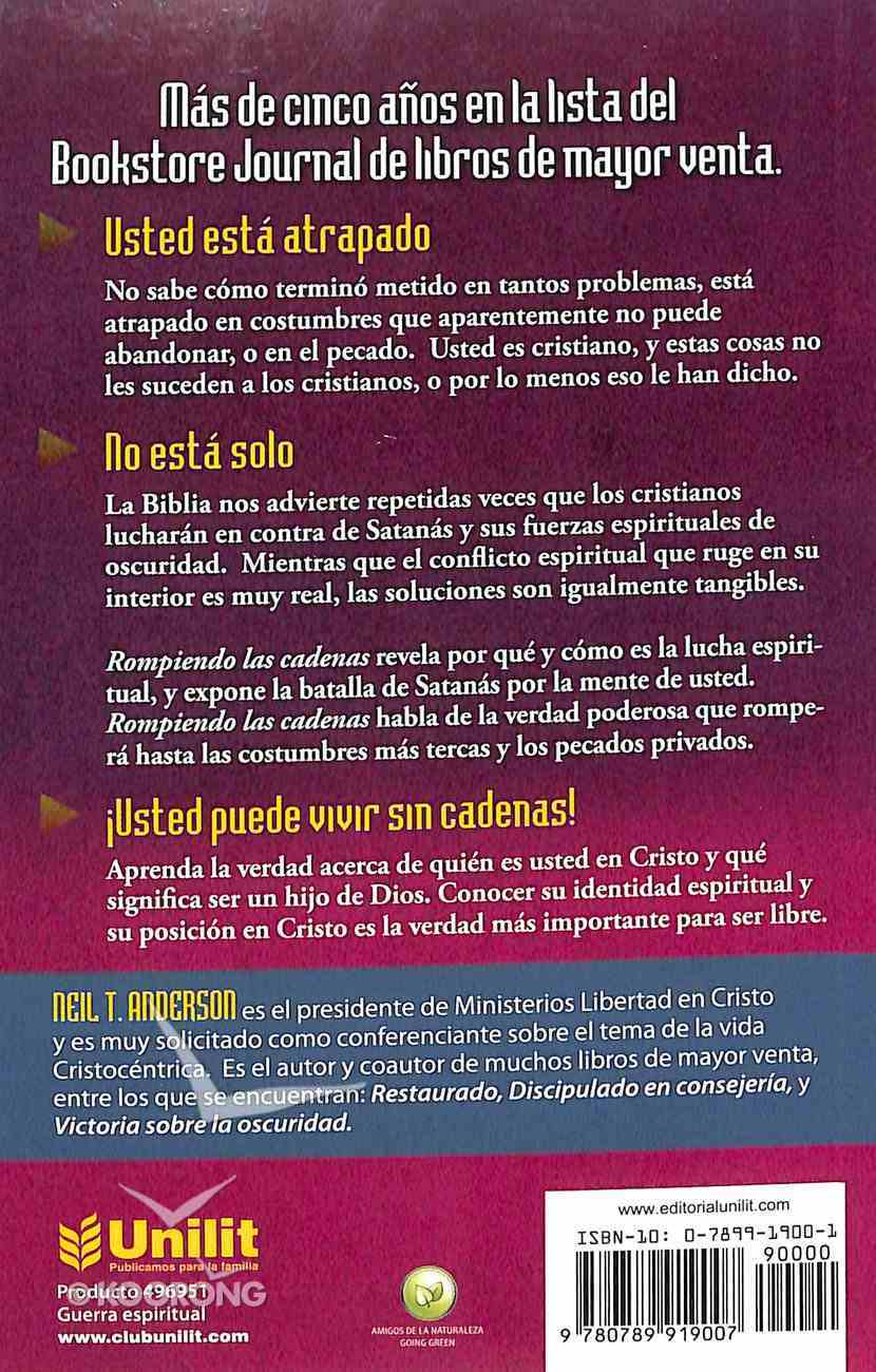Rompiendo Las Cadenas (Breaking The Chains) Paperback
