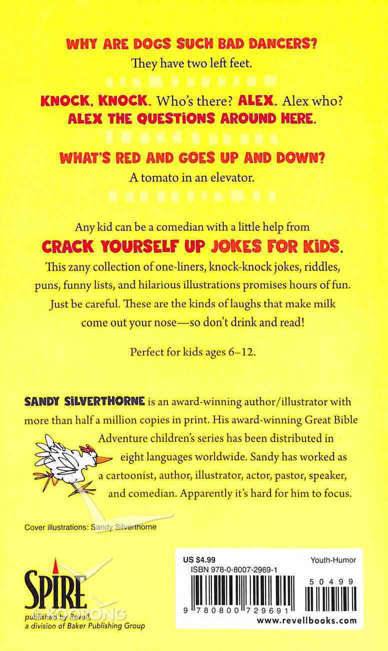 Crack Yourself Up Jokes For Kids Paperback