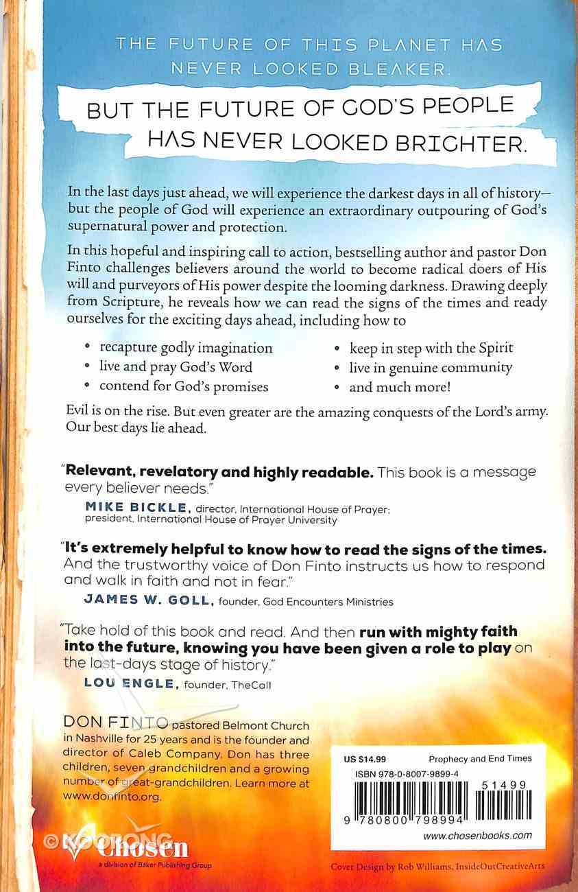The Handbook For the End Times: Hope, Help and Encouragement For Living in the Last Days Paperback
