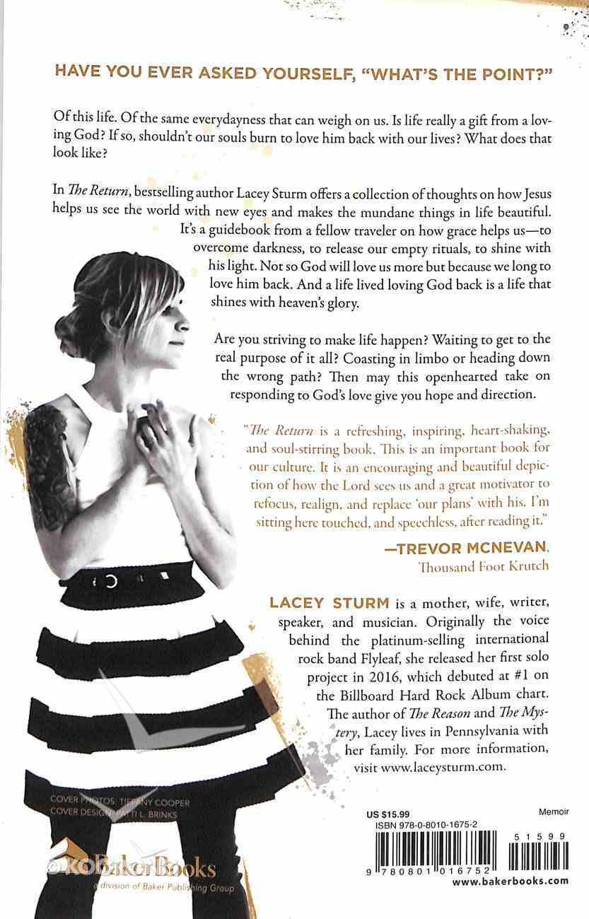 The Return: Reflections on Loving God Back Paperback