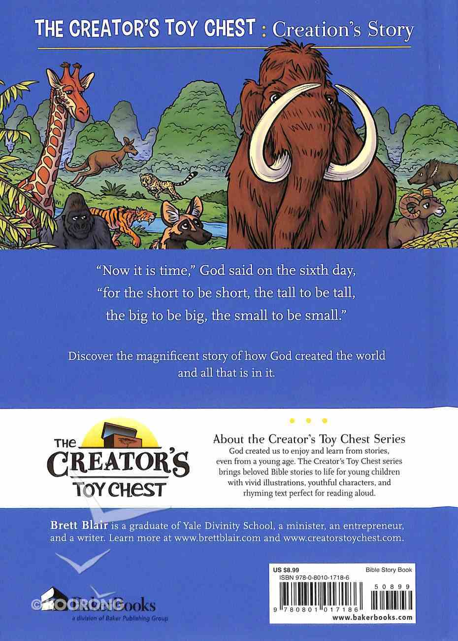 Chtoyc: Creation's Story (Creator's Toy Chest Series) Hardback