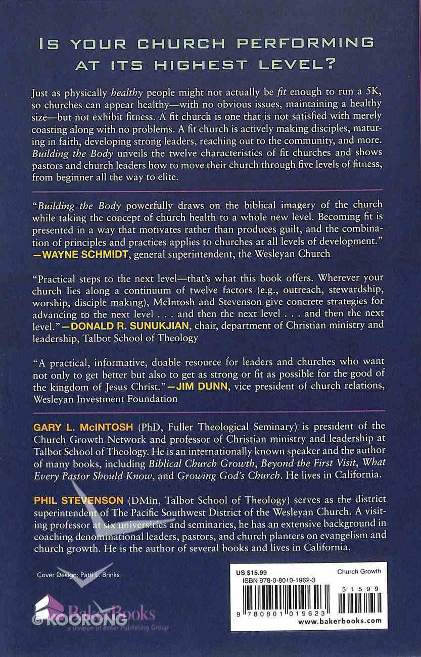 Building the Body: 12 Characteristics of a Fit Church Paperback