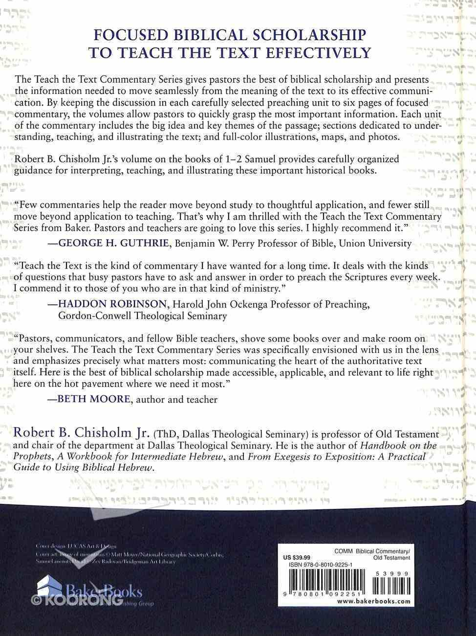 1 and 2 Samuel (Teach The Text Commentary Series) Hardback