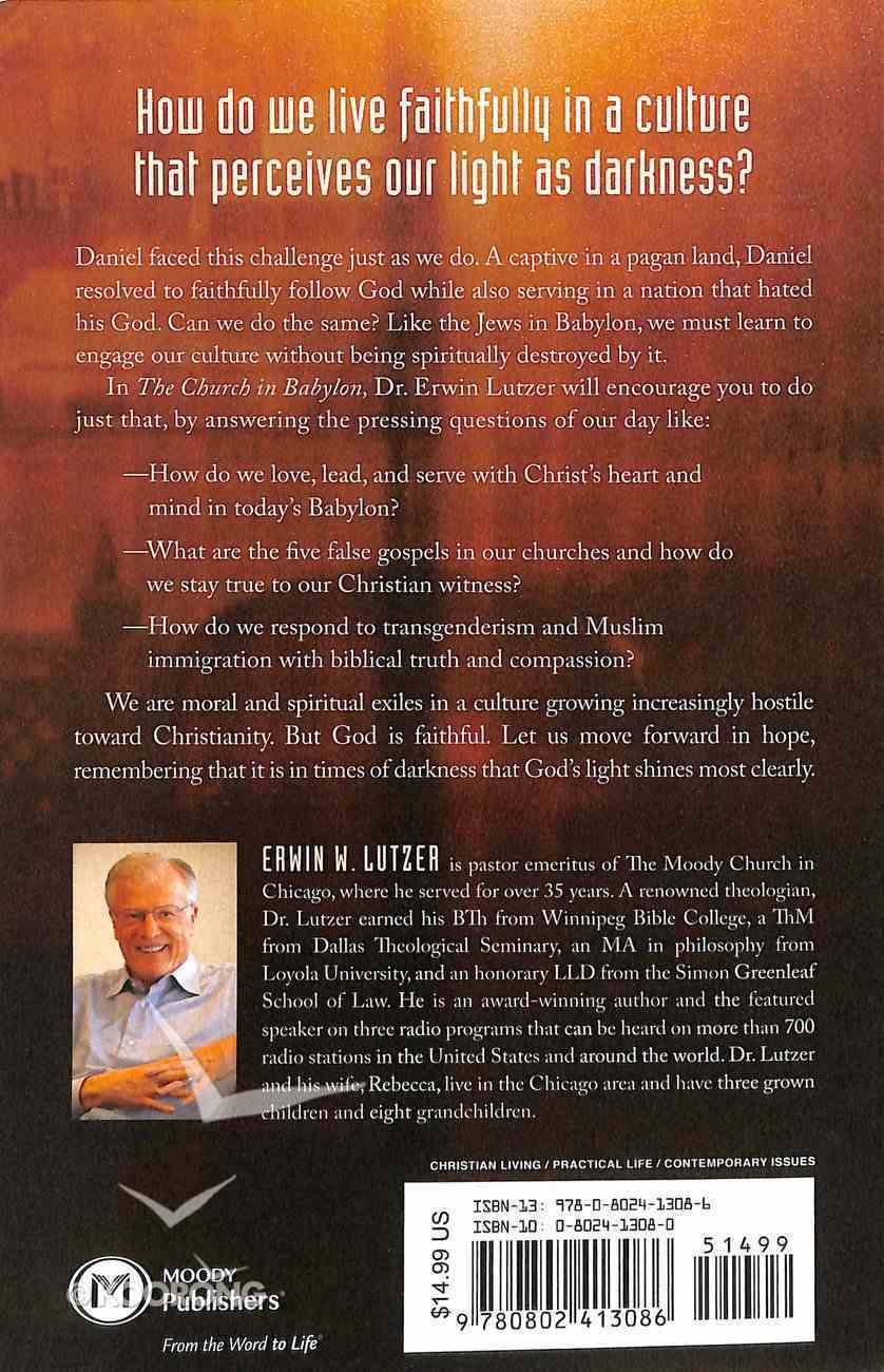 The Church in Babylon: Heeding the Call to Be a Light in the Darkness Paperback