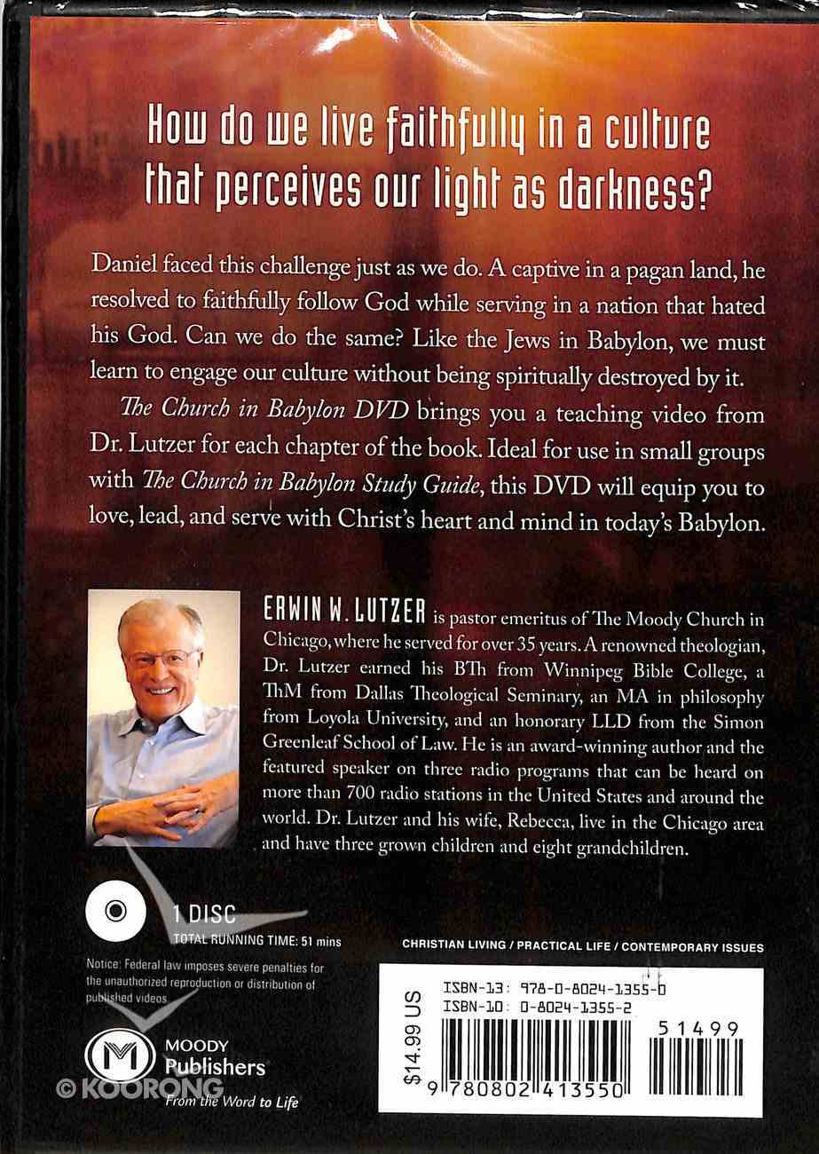 The Church in Babylon: Heeding the Call to Be a Light in the Darkness (Dvd) DVD