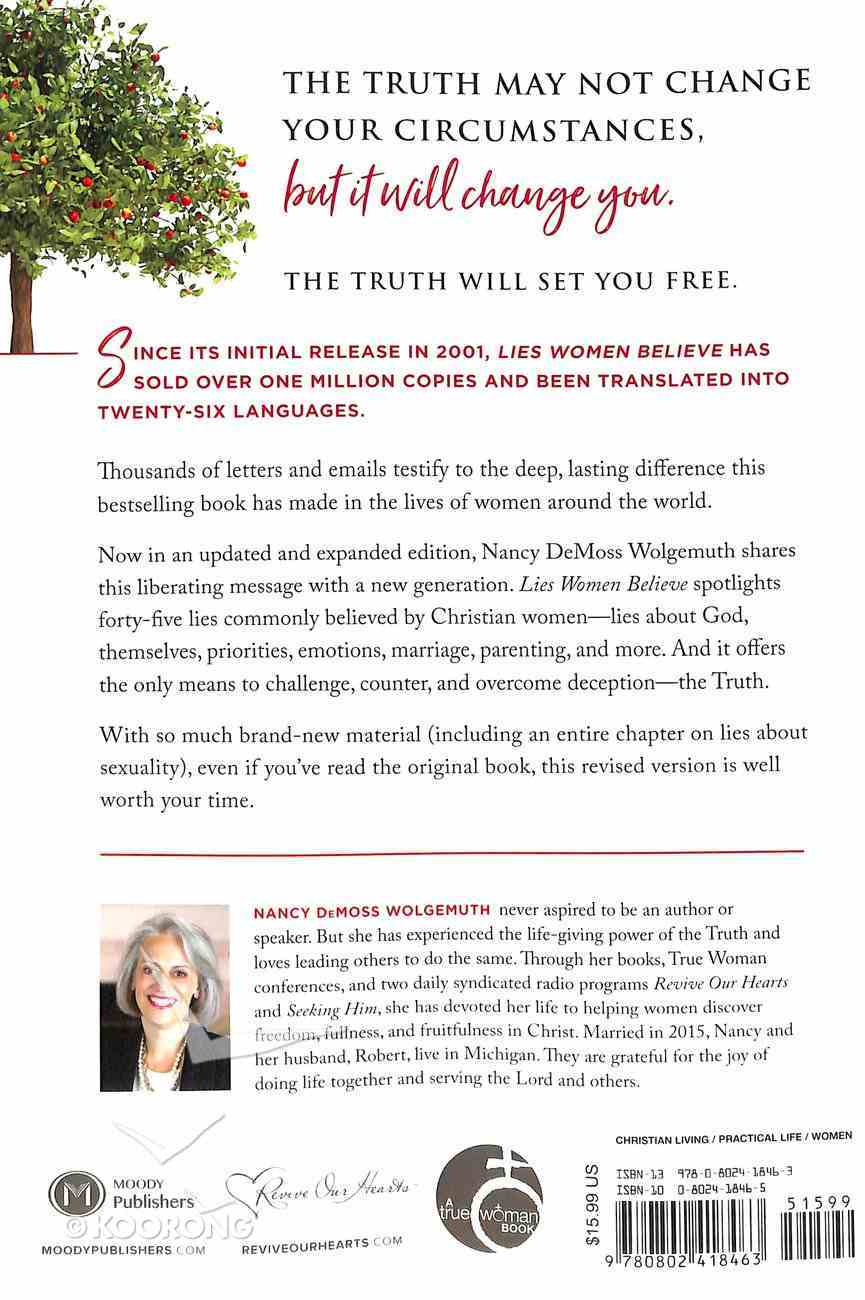 Lies Women Believe: And the Truth That Sets Them Free (& Expanded) Paperback