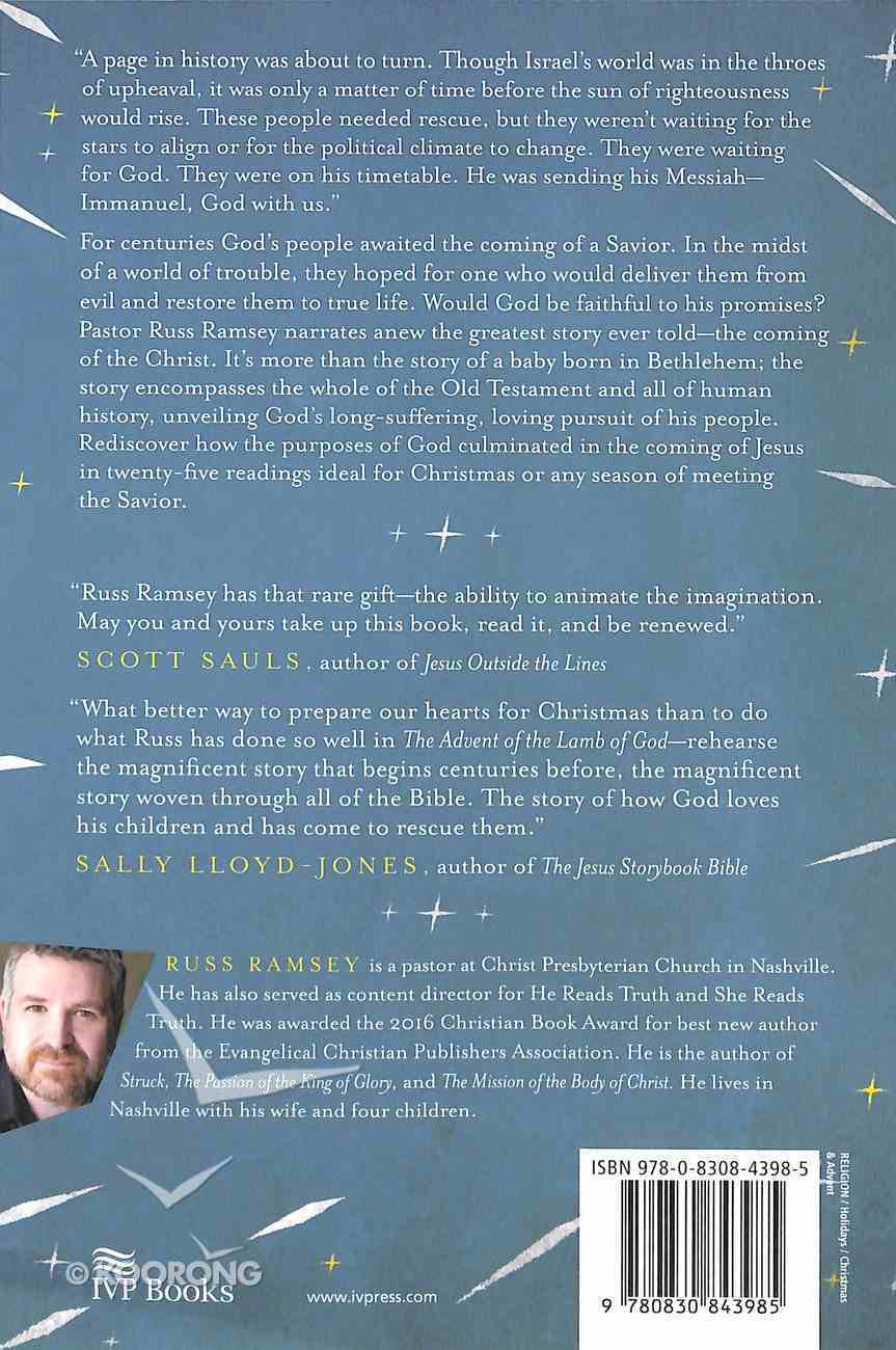 The Advent of the Lamb of God Paperback