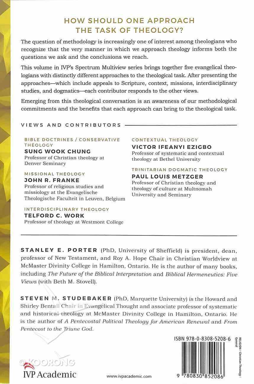 Evangelical Theological Method: Five Views Paperback