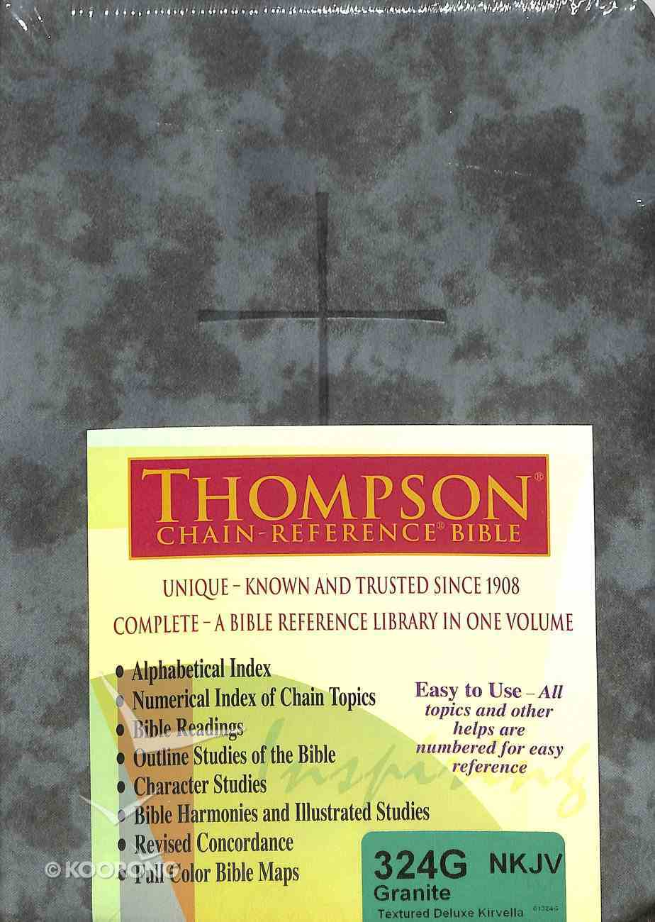 NKJV Thompson Chain-Reference Bible Granite (Red Letter Edition) Imitation Leather