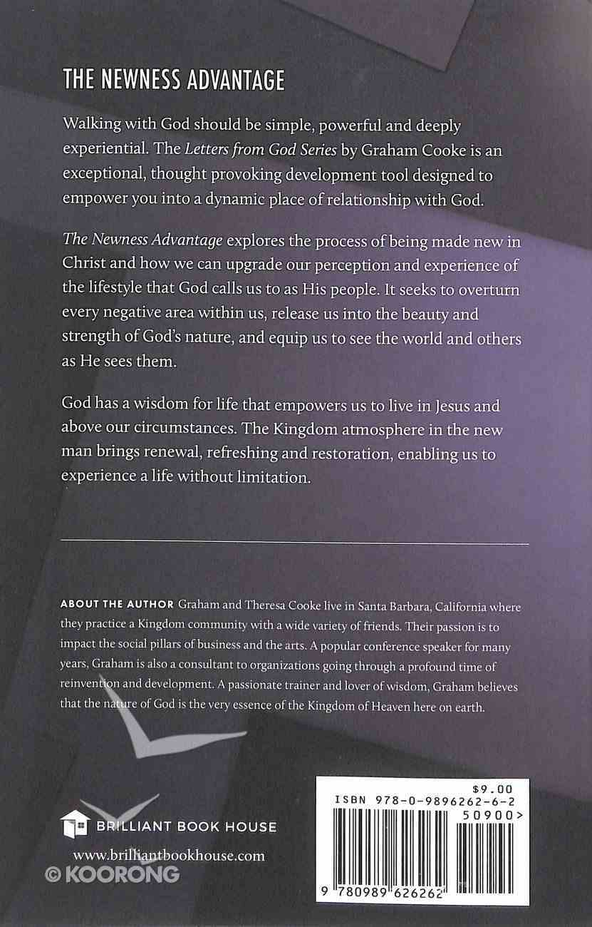 The Newness Advantage (#02 in Letters From God Series) Paperback