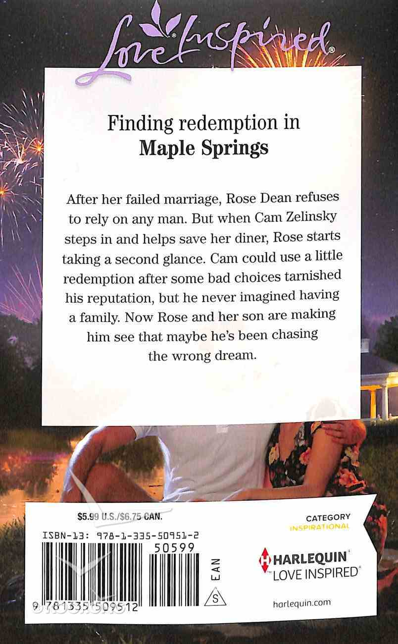 An Unexpected Family (Maple Springs) (Love Inspired Series) Mass Market