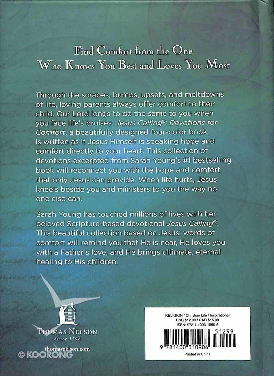 Jesus Calling 50 Devotions For Comfort Hardback