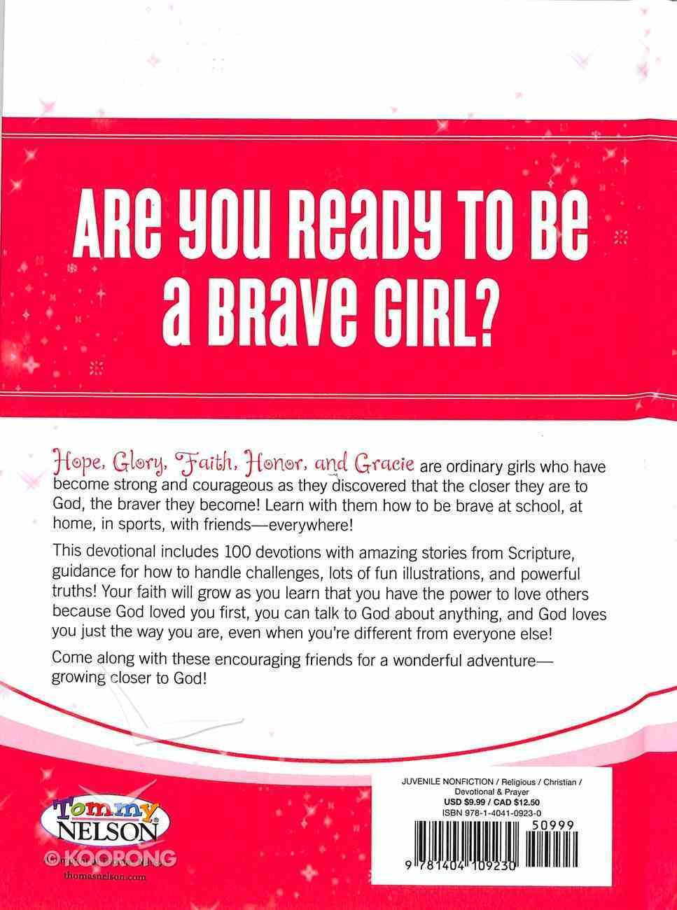 Brave Girls 100 Day Devotional (Brave Girls Series) Hardback