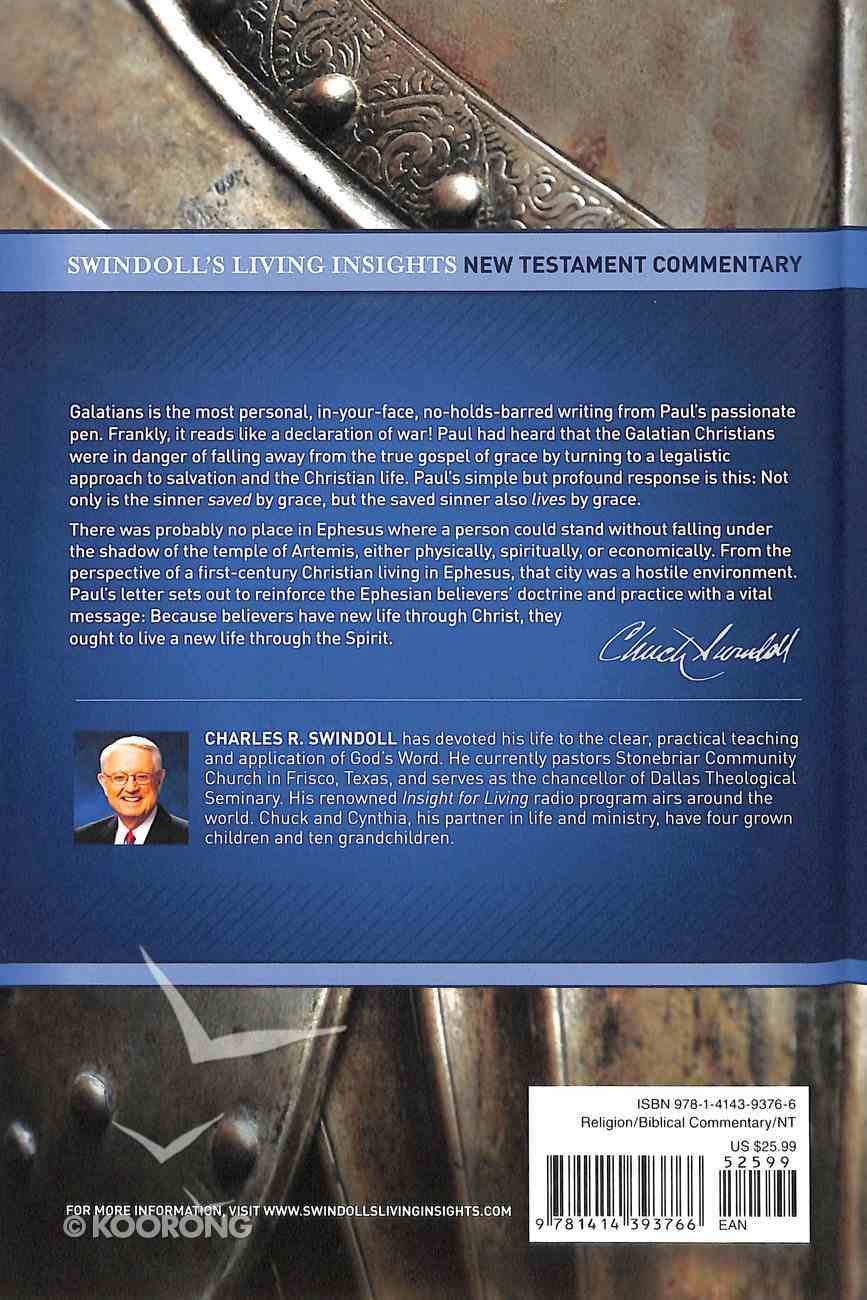 Insights on Galatians, Ephesians (Swindoll's Living Insights New Testament Commentary Series) Hardback