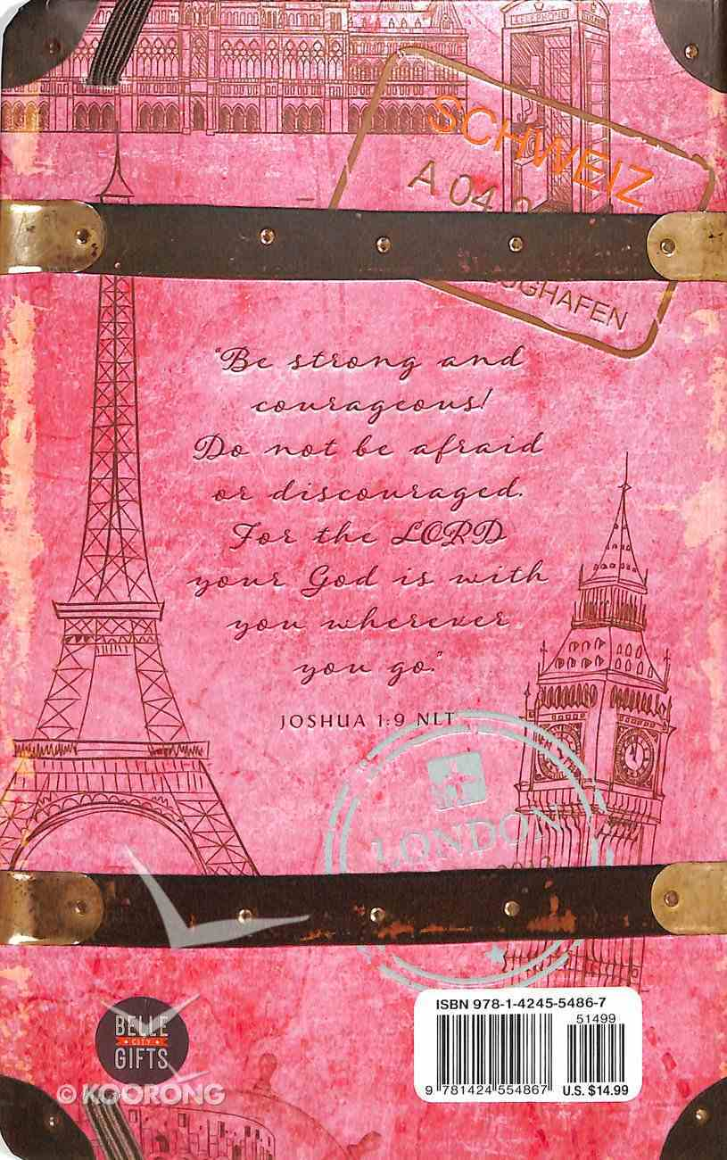 Journal: Lord Your God is With You, The, Pink Travel Journal Hardback