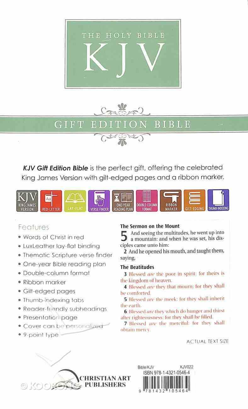 KJV Standard Edition Black Red Letter Edition Imitation Leather