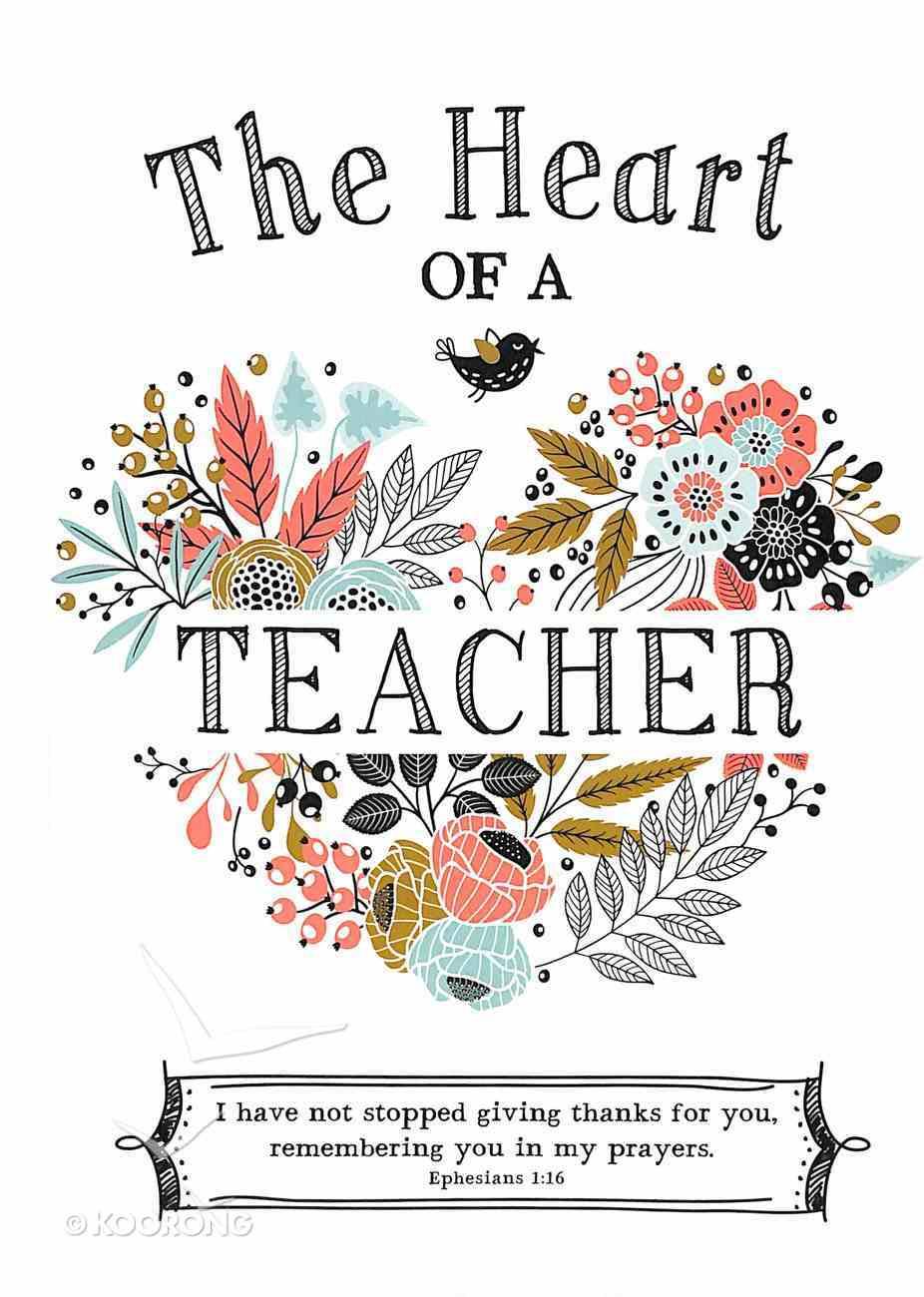 The Heart of a Teacher Hardback