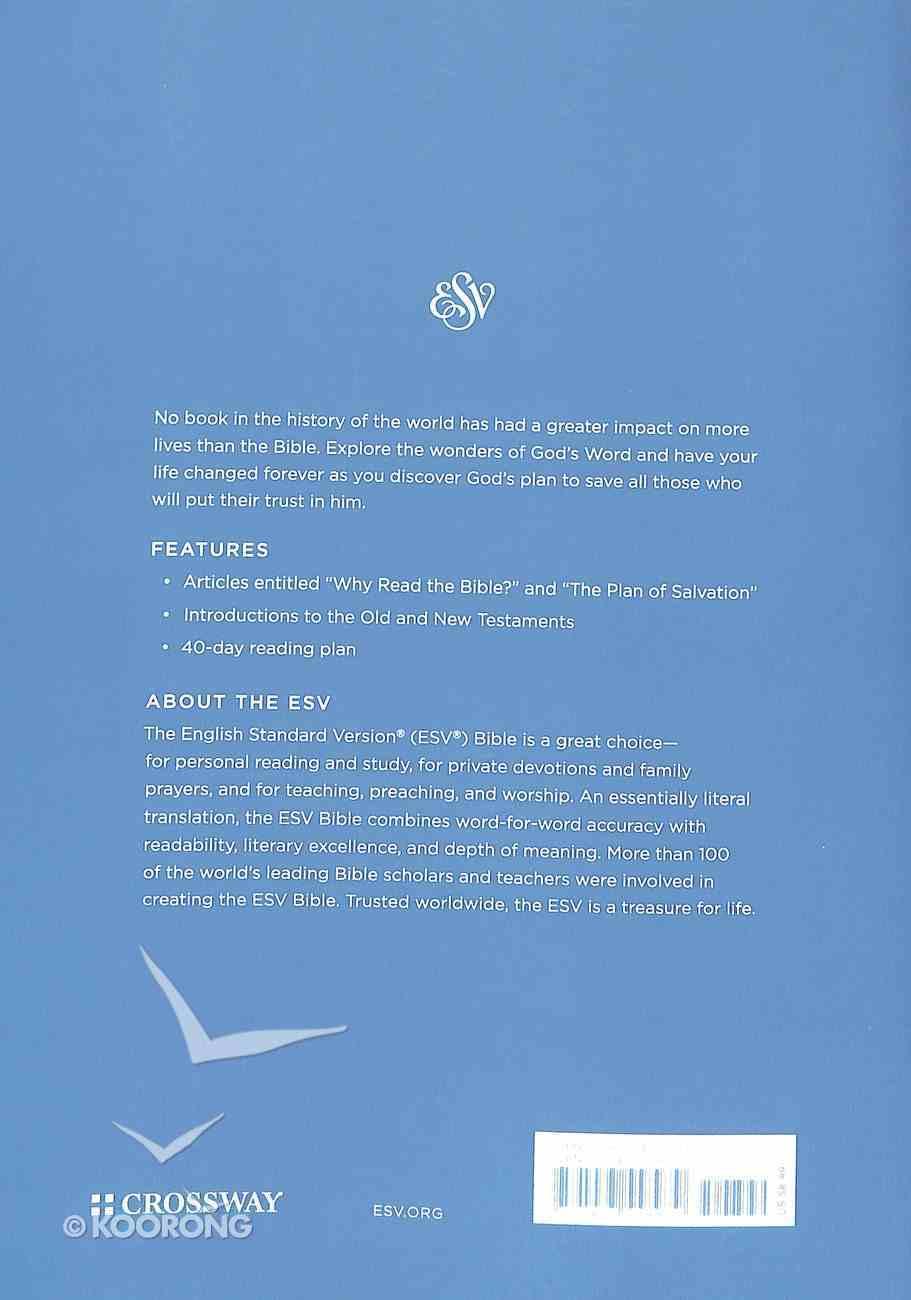 ESV Economy Bible Giant Print (Black Letter Edition) Paperback