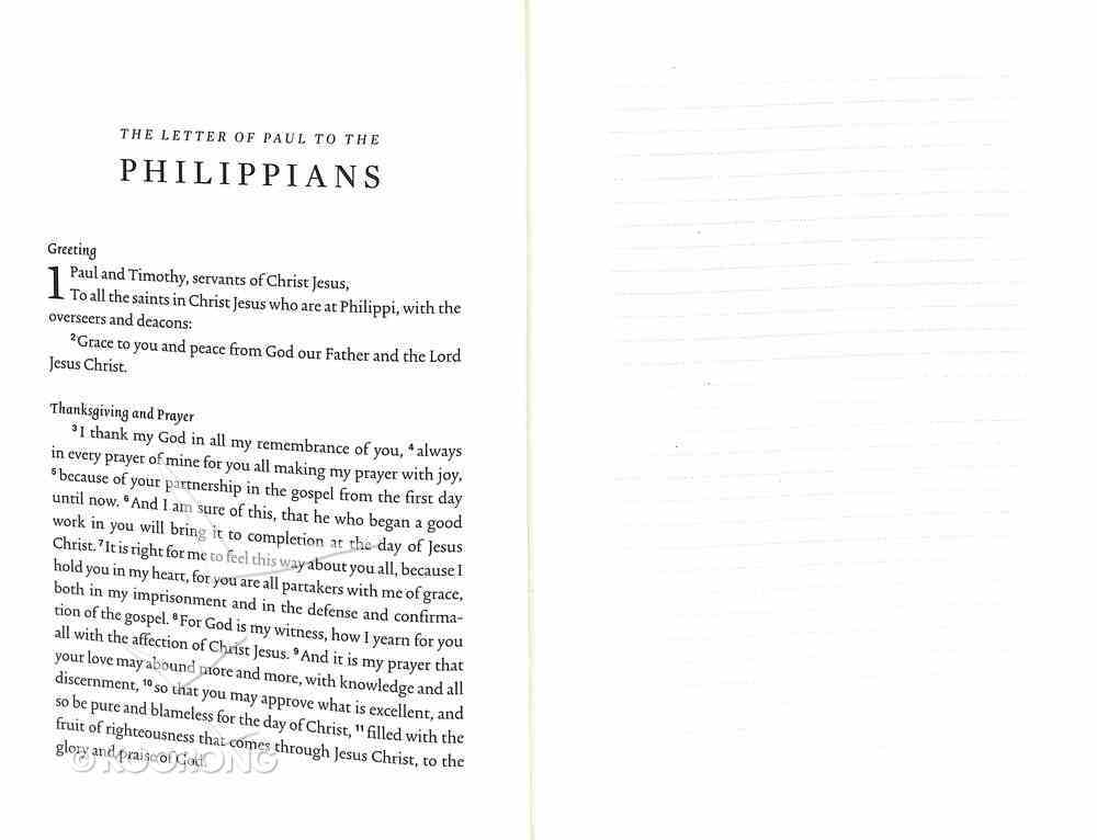 ESV Scripture Journal Philippians Paperback