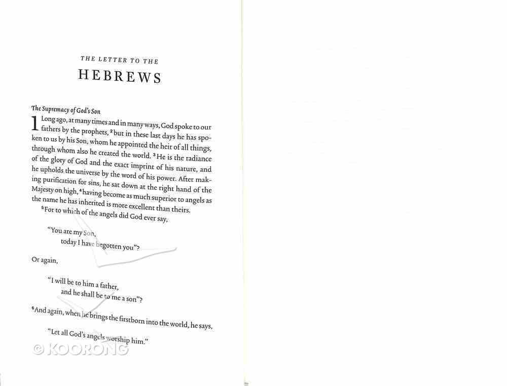 ESV Scripture Journal Hebrews Paperback