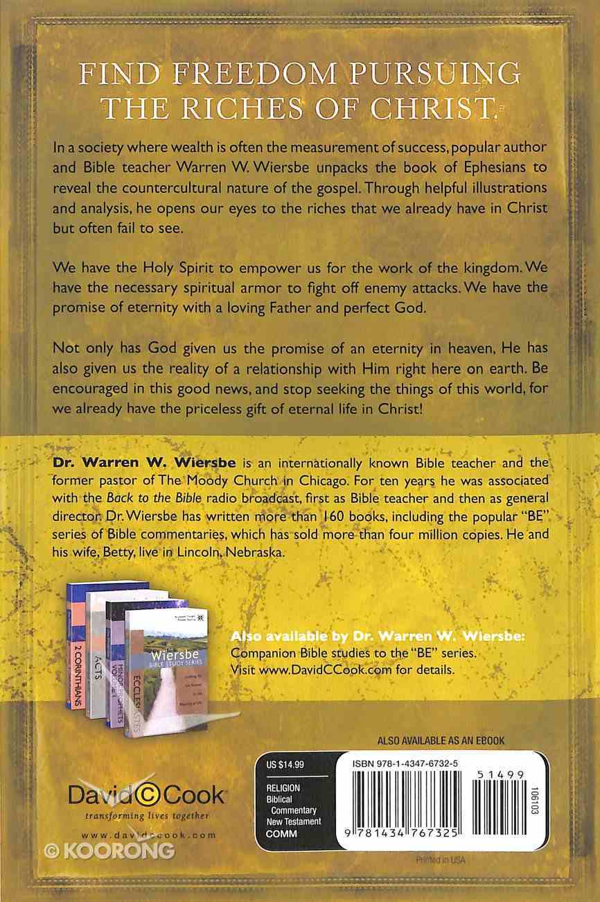 Be Rich (Ephesians) (Be Series) Paperback