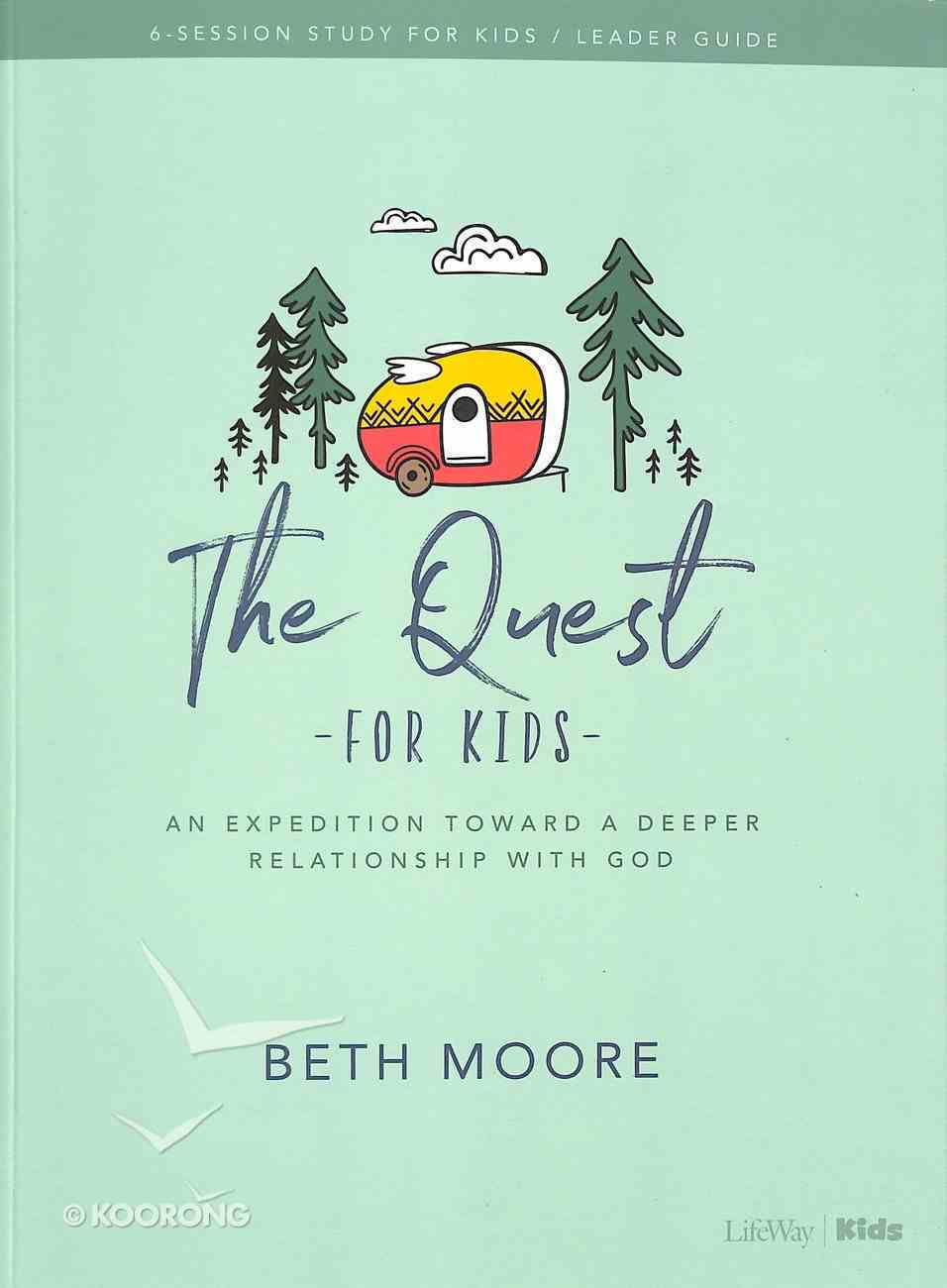The Quest (Kids Bible Study Leader Guide) Paperback