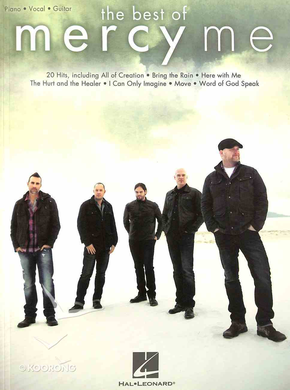 Best of Mercyme, the (Music Book) (Piano, Vocal & Guitar) Paperback
