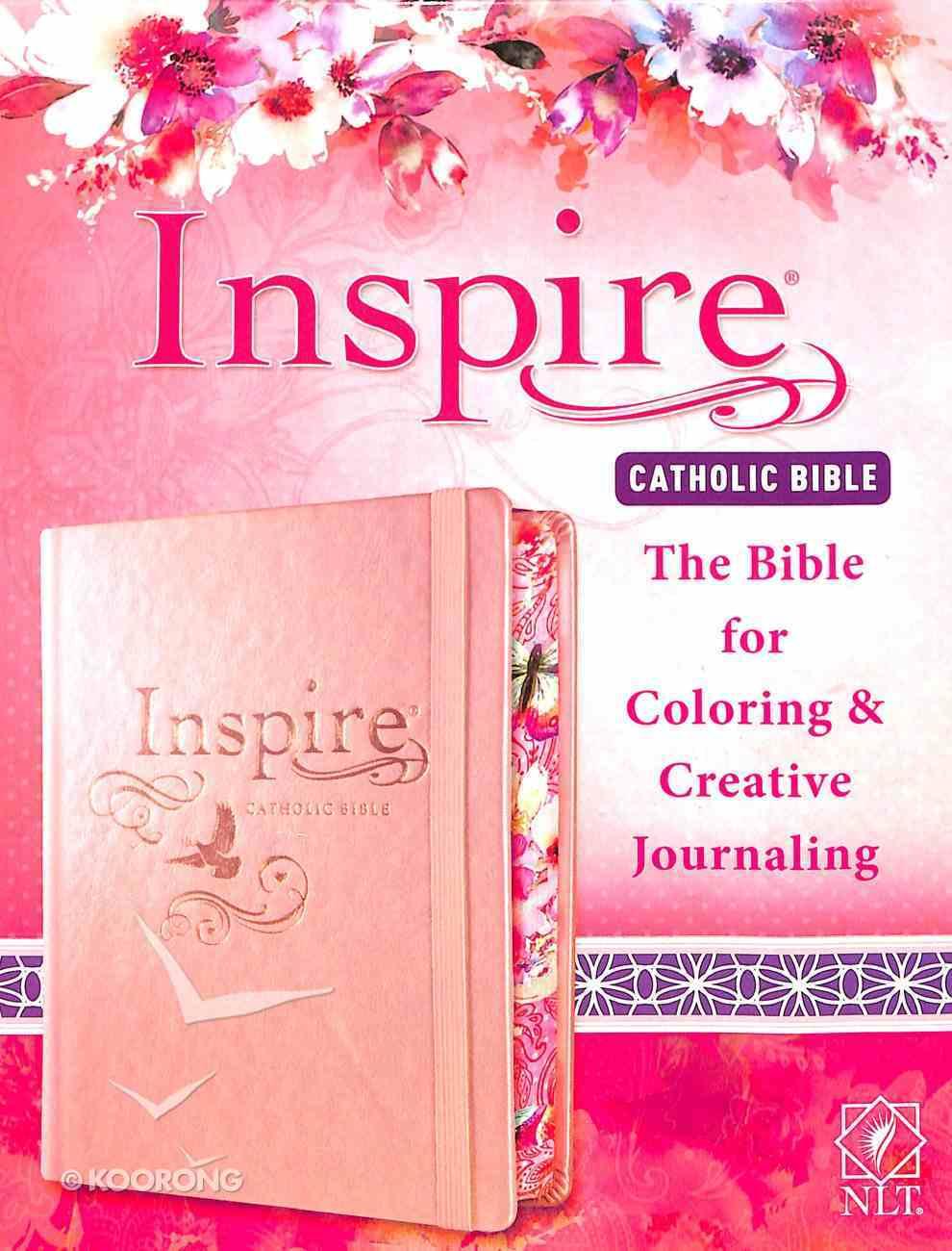 NLT Inspire Catholic Bible (Black Letter Edition) Hardback