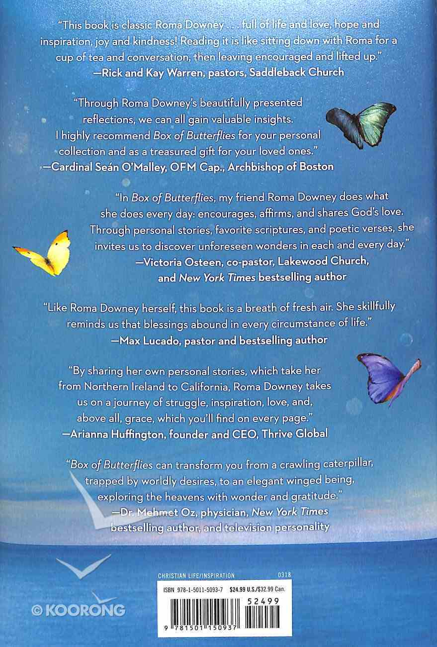 Box of Butterflies: Discovering the Unexpected Blessings All Around Us Hardback
