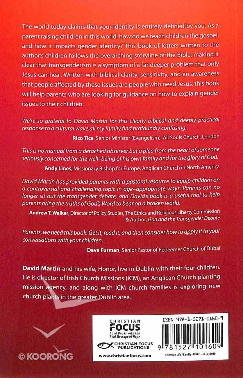 Rewriting Gender?: You, Your Family, Transgenderism and the Gospel Paperback