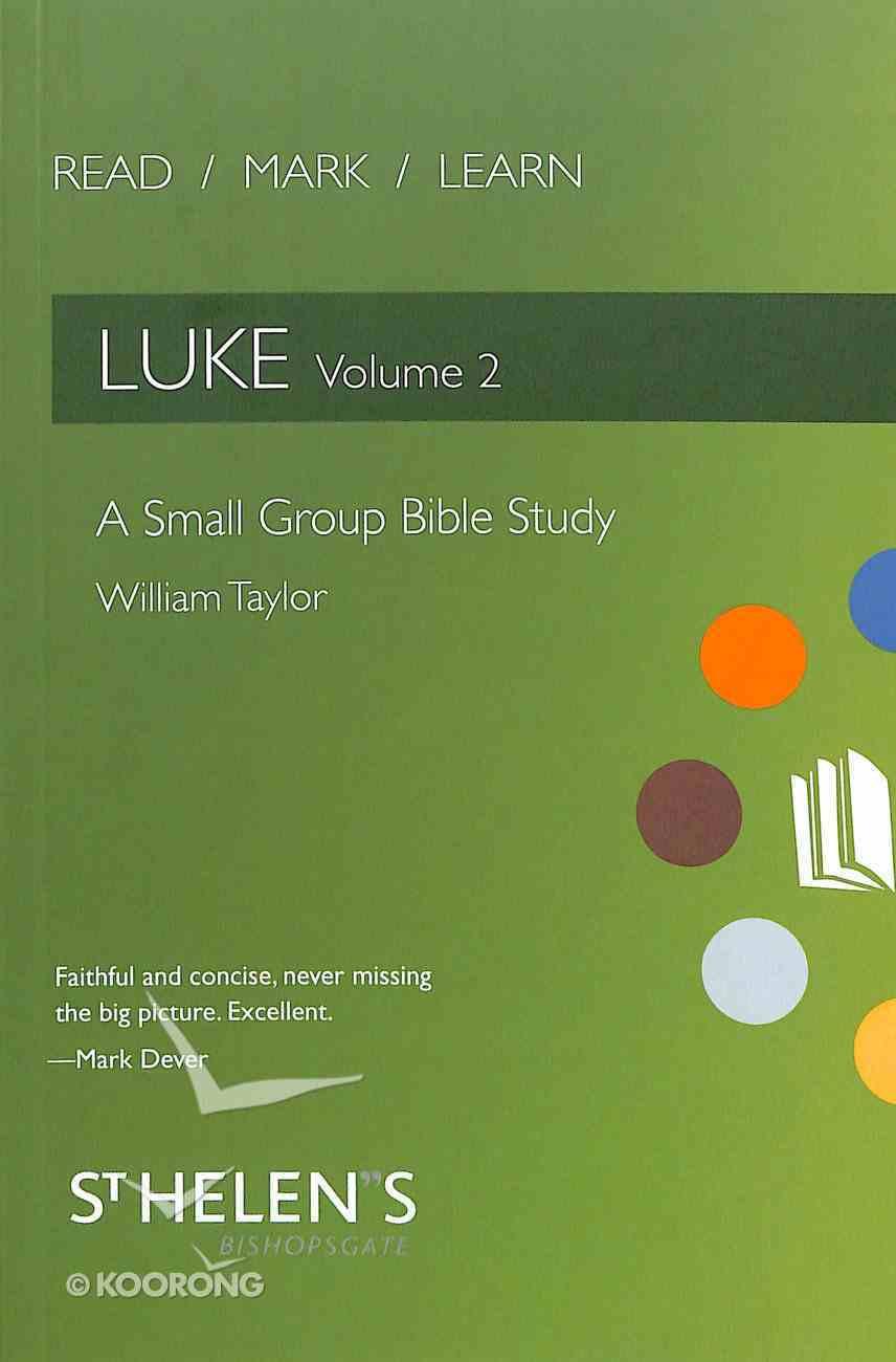 Luke (Volume 2) (Read Mark Learn Series) Paperback