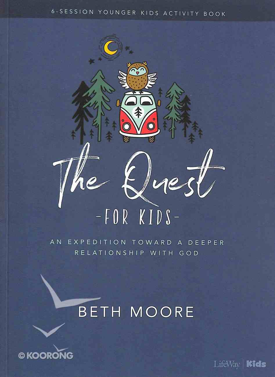 The Quest (Younger Kids Activity Book) Paperback