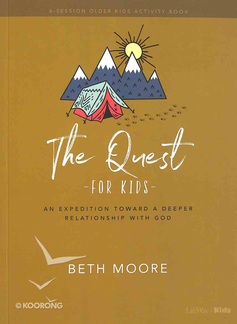 The Quest (Older Kids Activity Book) Paperback