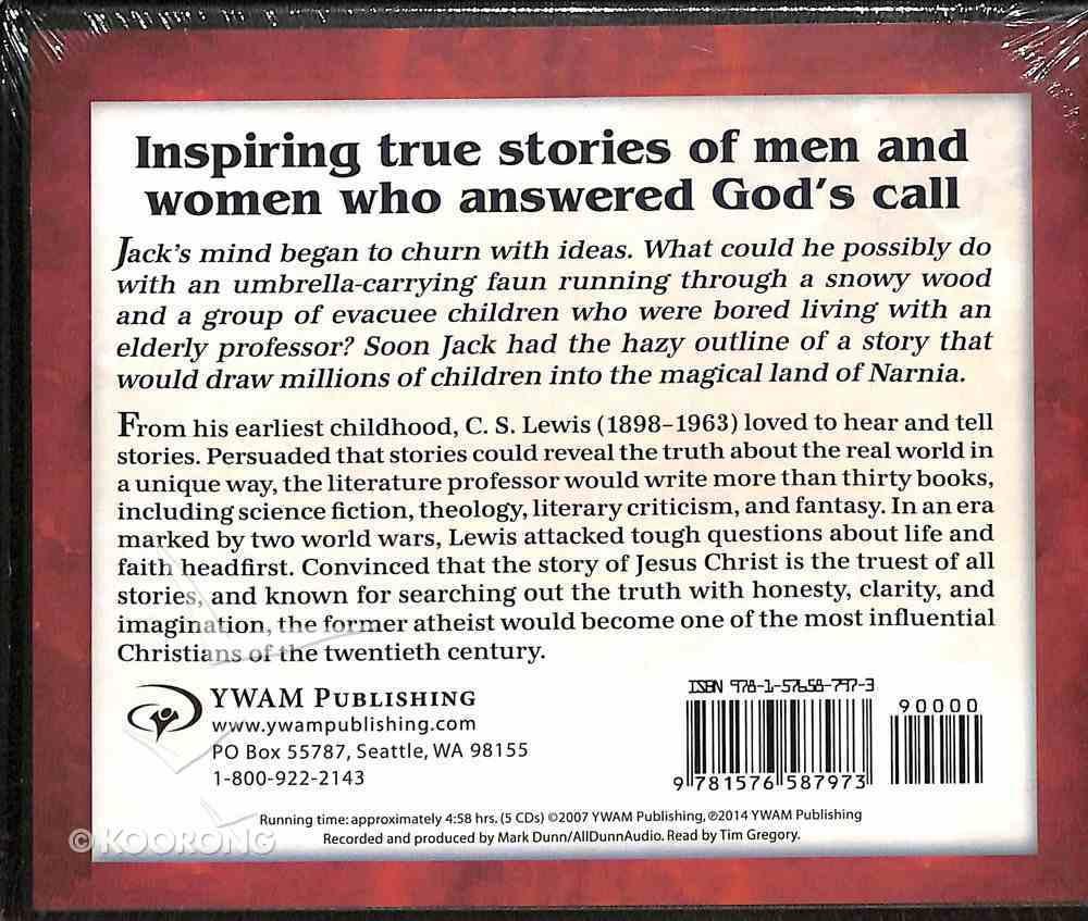 C. S. Lewis - Master Storyteller (Unabridged, CDS) (Christian Heroes Then & Now Audio Series) CD