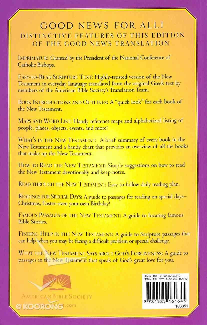 GNB Good News New Testament Catholic Paperback