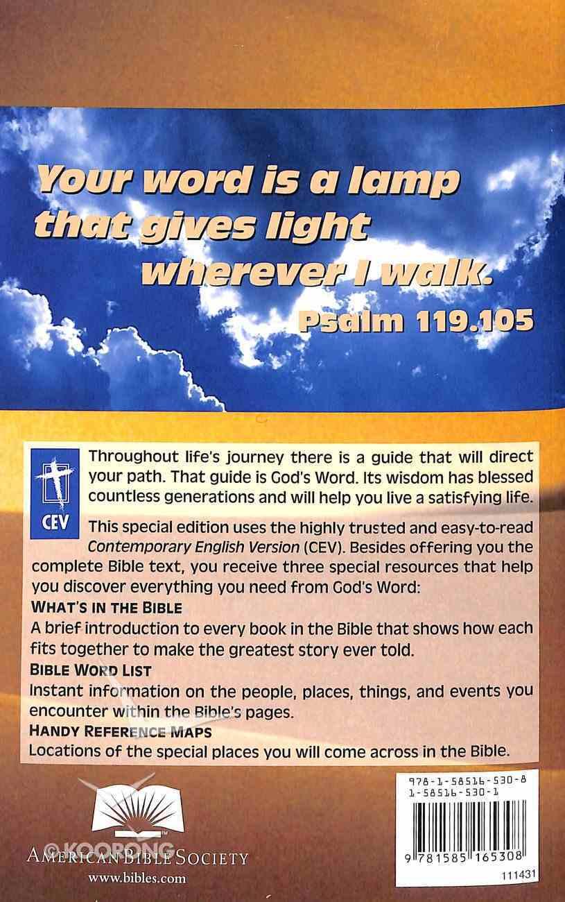 CEV Holy Bible Black Letter Paperback
