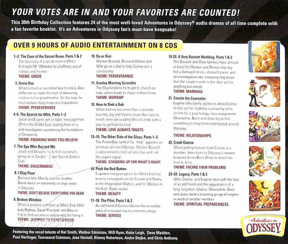 Fan Favorites (Adventures In Odyssey Audio Series) CD
