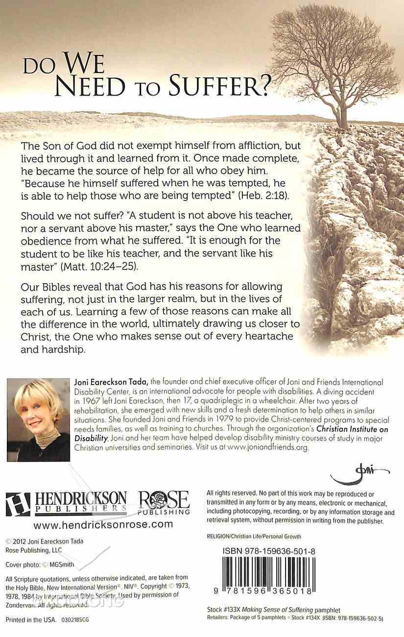 Suffering: Making Sense of Suffering (Rose Guide Series) Pamphlet