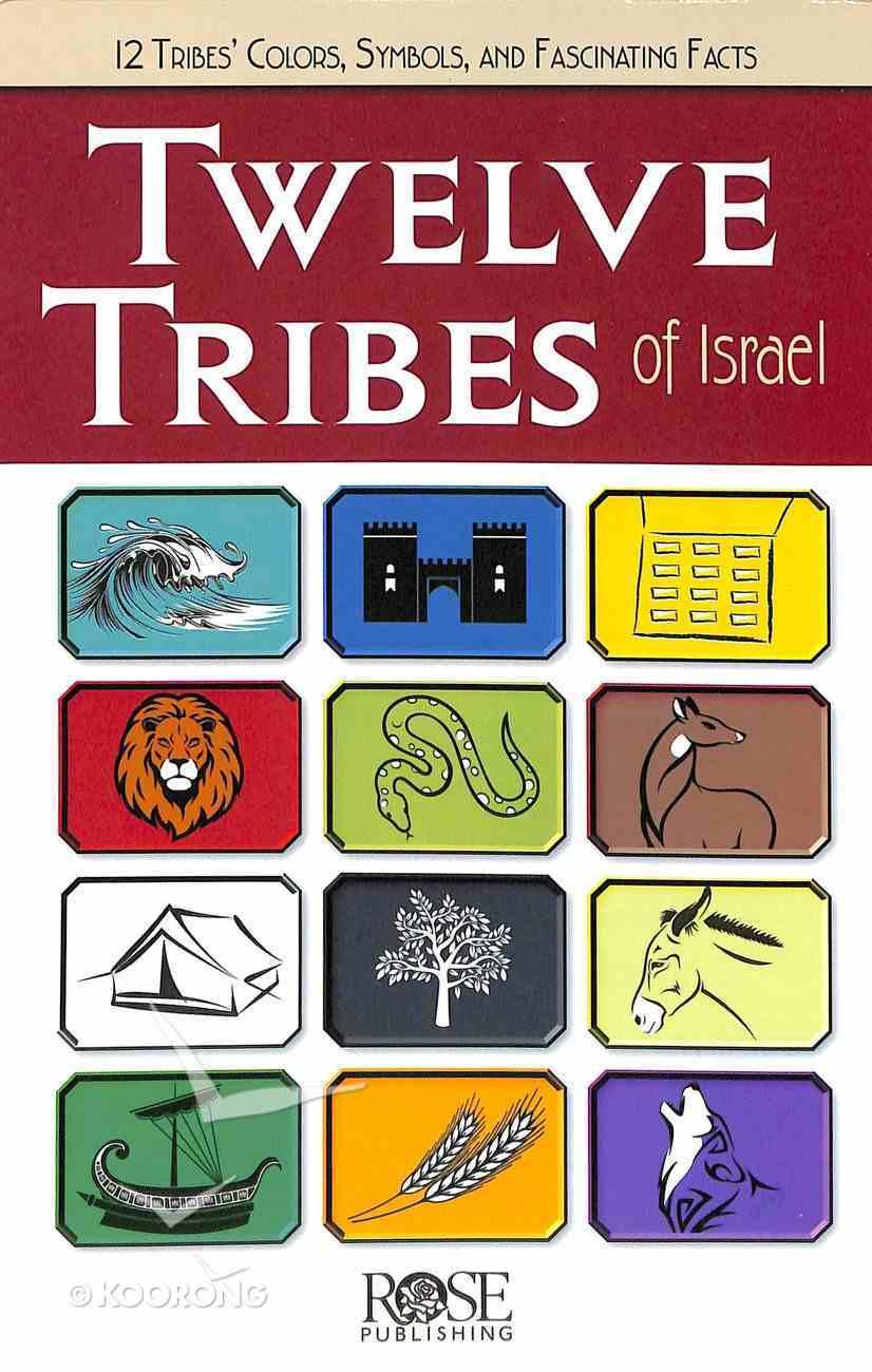 Twelve Tribes of Israel (Rose Guide Series) Pamphlet