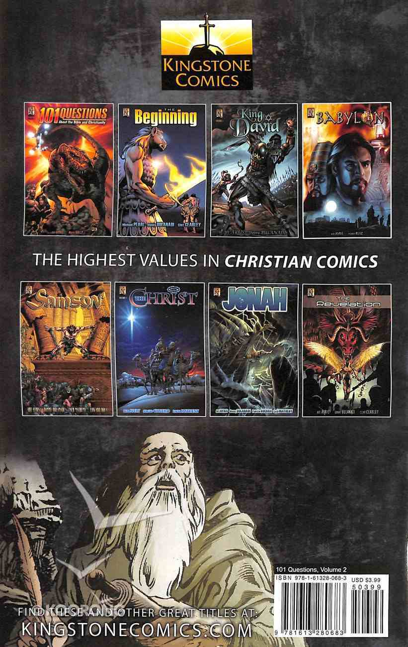 End of the World, Demons, Angels, Pets (#02 in 101 Questions About The Bible Kingstone Comics Series) Paperback