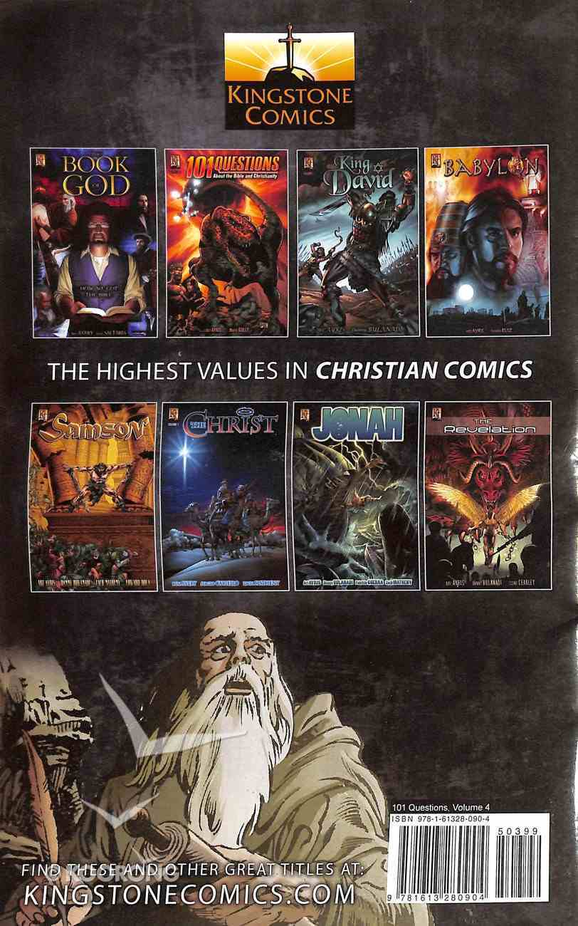 Existence of God, Cavemen and Ghosts (#04 in 101 Questions Comic Book Series) Paperback