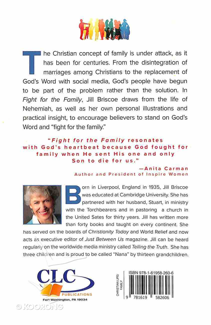 Fight For the Family: A Battle Plan For Rebuilding the Home Paperback