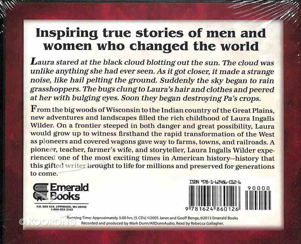 Laura Ingalls Wilder - a Storybook Life (Unabridged, 5 CDS) (Heroes Of History Series) CD
