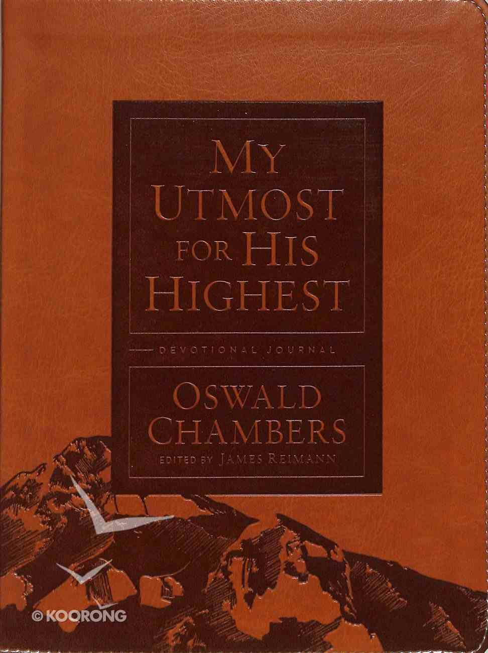 My Utmost For His Highest (Devotional Journal) Imitation Leather