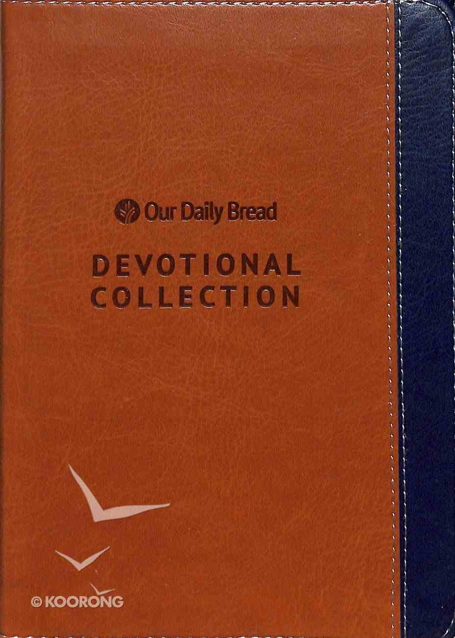 2019 Devotional Collection (Navy and Walnut) (Our Daily Bread Series) Imitation Leather