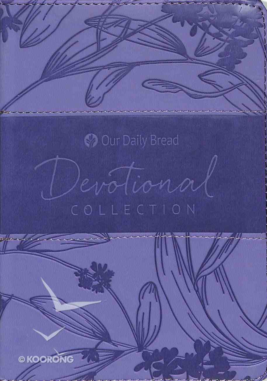 2019 Devotional Collection (Iris Purple) (Our Daily Bread Series) Imitation Leather