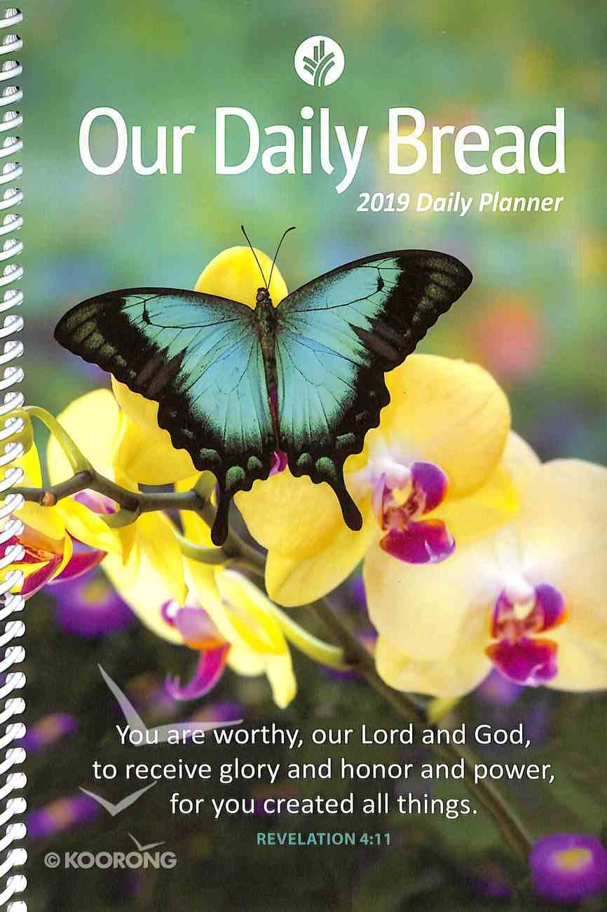 2019 Daily Diary/Planner: Our Daily Bread Spiral