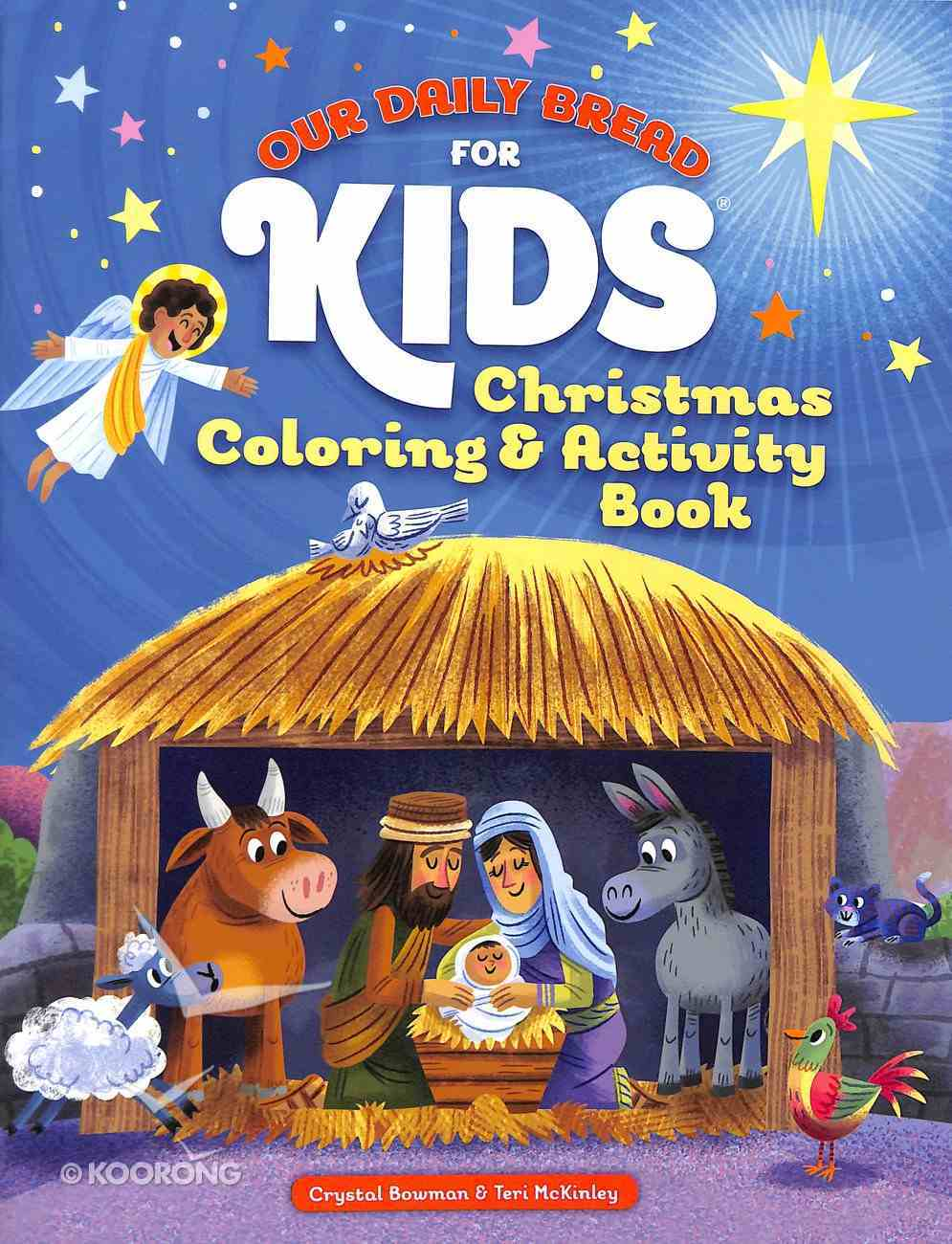 Christmas Coloring and Activity Book (Our Daily Bread For Kids Series) Paperback