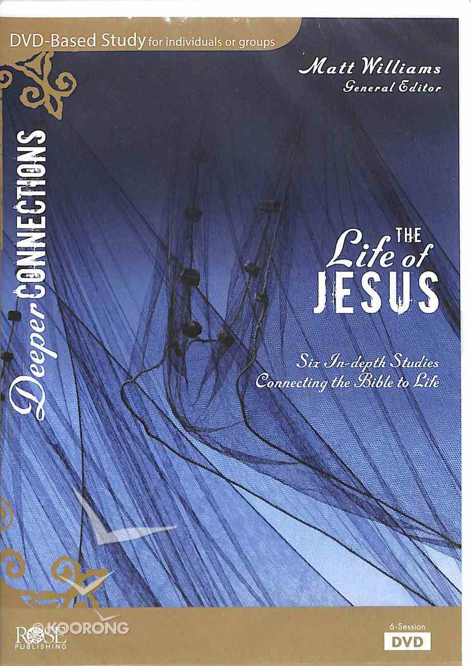 Life of Jesus, the 6 Session DVD Bible Study (Dvd) DVD